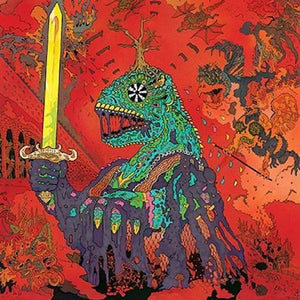 King Gizzard and The Lizard Wizard - 12 Bar Bruise [Sea Foam Green Color Vinyl]  (1914625261627)