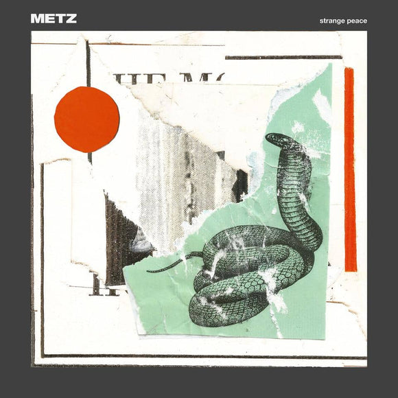 METZ - Strange Peace [Very Rare LOSER edition on Green/Red Splatter Color Vinyl]  (4441346801728)
