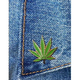 Marijuana Leaf Enamel Pin  (2243092086843)