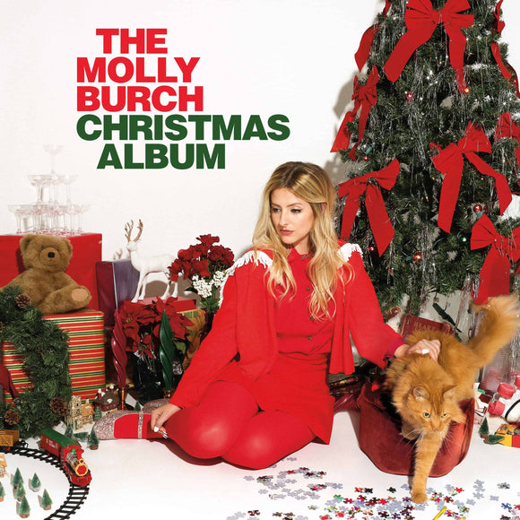 Molly Burch - The Molly Burch Christmas Album [Limited Edition Candy Cane Color Vinyl]