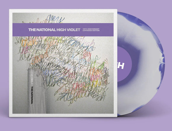 National, The - High Violet (Expanded Edition)(Purple and clear marble vinyl)  (4419305439296)