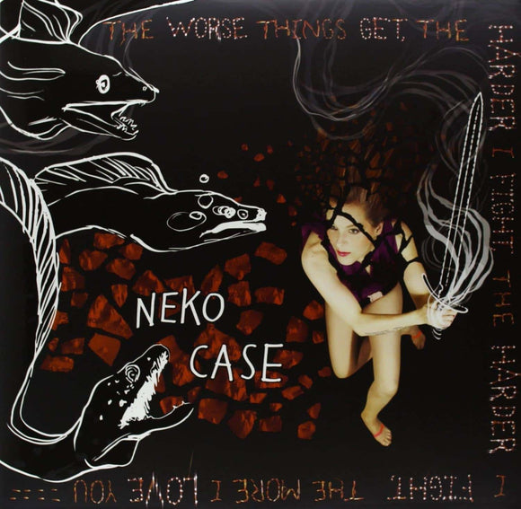 Neko Case - The Worse Things Get, The Harder I Fight, The Harder I Fight, The More I Love You (2LP + CD)  (3423924035)