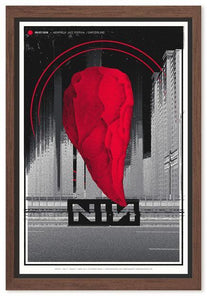 Nine Inch Nails - Montreux Jazz Festival in Switzerland 2018 Gig Poster  (1942131966011)