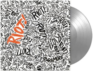 Paramore - Riot! [Very Limited Silver Color Vinyl Record Anniversary Edition)