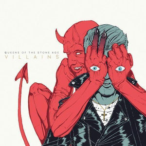 Queens Of The Stone Age - Villains (180g Deluxe Edition) Vinyl Record  (11307936206)