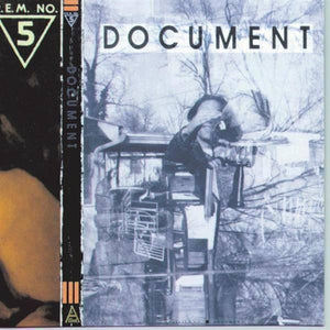 R.E.M. - Document [Very Limited Translucent Gold Color Vinyl Record]  (2295851941947)