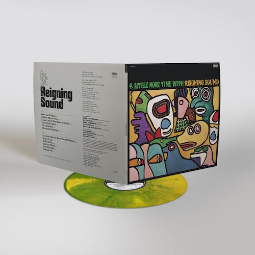 Reigning Sound - A Little More Time with Reigning Sound [Limited Peak Edition on yellow & green swirl color vinyl]