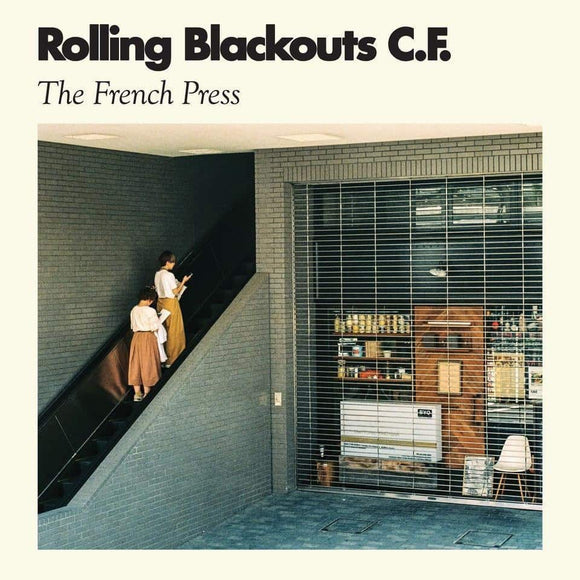 Rolling Blackouts Coastal Fever - The French Press Vinyl Record  (10057682446)