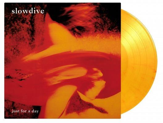 SLOWDIVE - JUST FOR A DAY [Limited Edition 180g Flaming Color Vinyl Record]  (5390947877021)