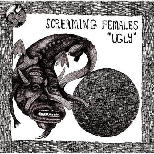 Screaming Females - Ugly (2LP) [Limited Clear with Black Splatter Color Vinyl Record]  (4367480684608)
