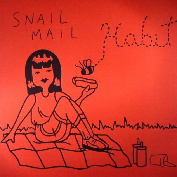 Snail Mail - Habit Vinyl Record  (2337846722619)