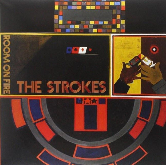 Strokes, The - Room on Fire Vinyl Record  (1247742467)