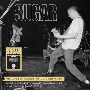 Sugar - The Joke Is Always On Us, Sometimes [Limited Clear Color Vinyl]  (4421474156608)