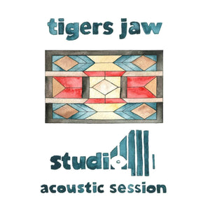 Tigers Jaw - Studio 4 Acoustic Session [Limited Red Color Vinyl Record]  (5297008672925)