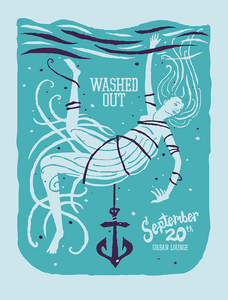 WASHED OUT 2012 Sat Lake City Gig Poster  (1369090293819)