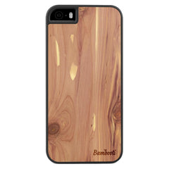 iPhone 5(s)/SE Wood Slim Case Cedar Regular