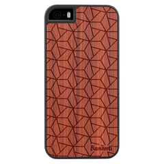 iPhone 5(s)/SE Wood Slim Case Padauk Triopus