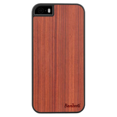 iPhone 5(s)/SE Wood Slim Case Padauk Regular
