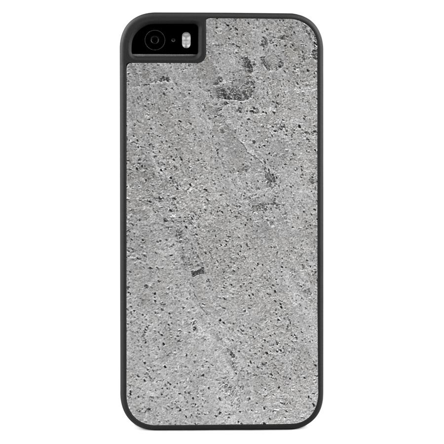 iPhone 5(s)/SE Stone Slim Case Silver Stone