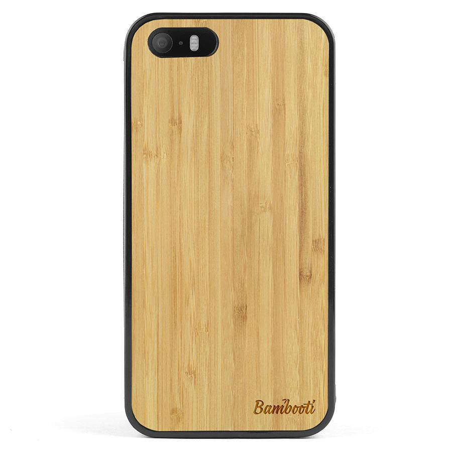 iPhone SE Protective Bamboo Case