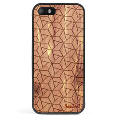 iPhone 5(s)/SE Wood Protective Case Cedar Triopus