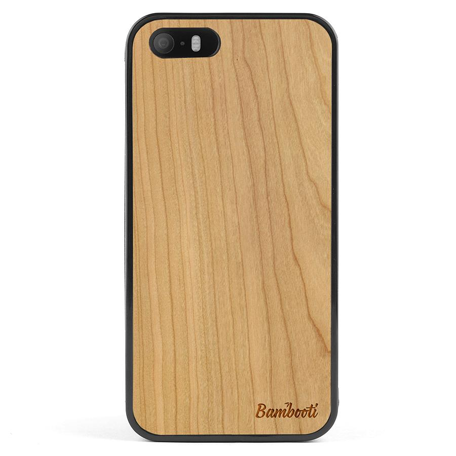 iPhone 5(s)/SE Wood Protective Case Cherry Regular