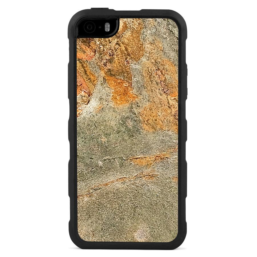 iPhone 5(s)/SE Stone Impact Case Fire Stone