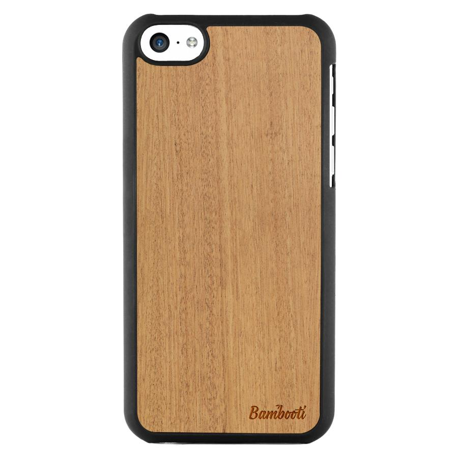 iPhone 5c Wood Slim Case Mahogany Regular