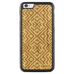 iPhone 6(s) Plus Wood Protective Case Bamboo Aztec