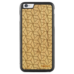 iPhone 6(s) Plus Wood Protective Case Bamboo Triopus