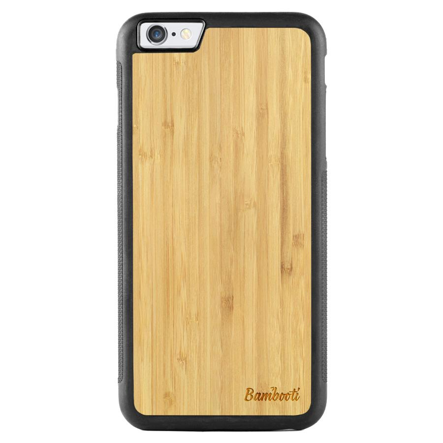 iPhone 6(s) Plus Wood Protective Case Bamboo Regular