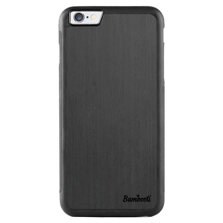 iPhone 6(s) Plus Wood Protective Case Black Ash Regular