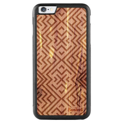 iPhone 6(s) Plus Wood Protective Case Cedar Aztec