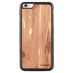 iPhone 6(s) Plus Wood Protective Case Cedar Regular