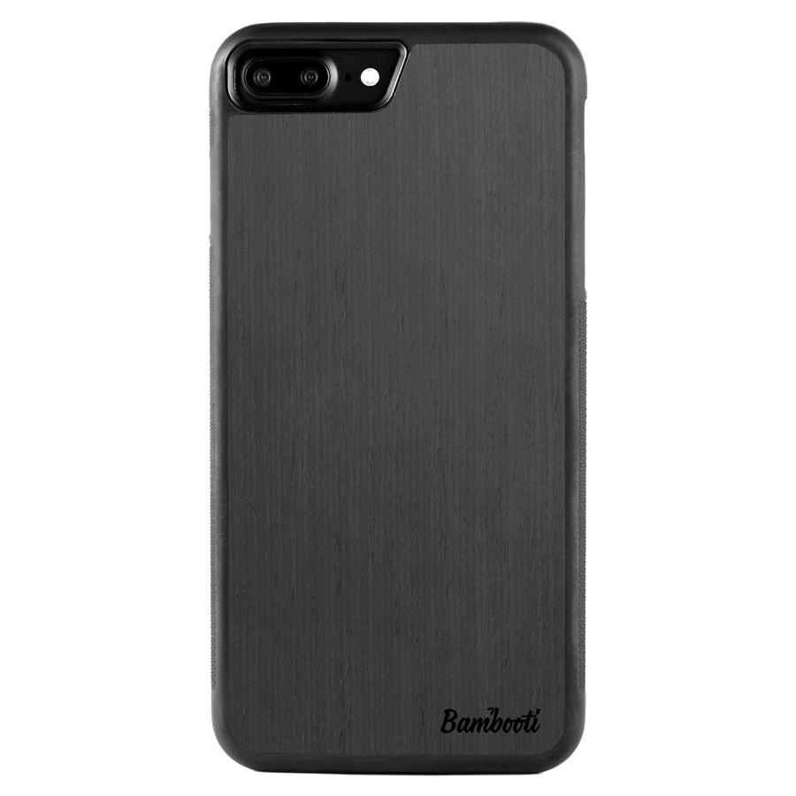 iPhone 7 Plus Wood Protective Case Black Ash Regular