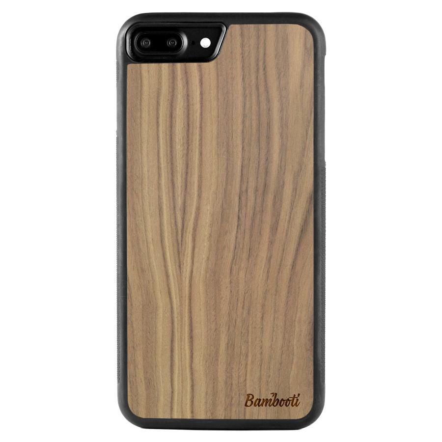 iPhone 7 Plus Protective Walnut Case