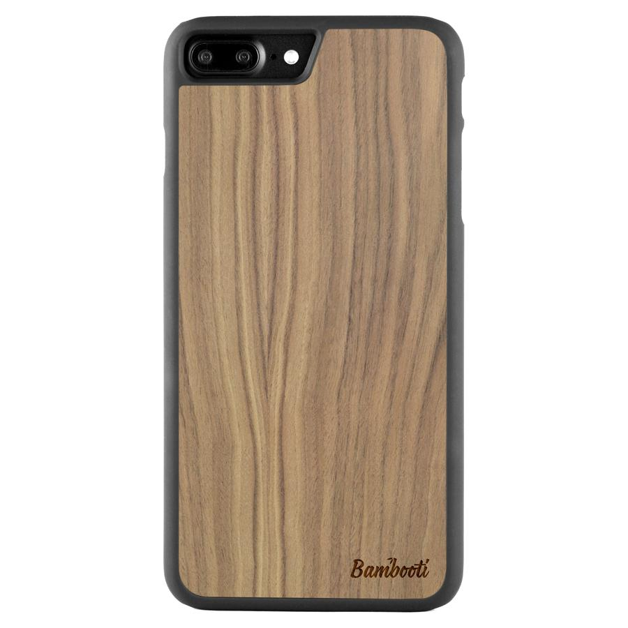 iPhone 7 Plus Slim Walnut Case