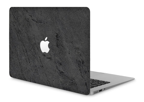 "MacBook Pro 15"" Retina Stone Cover Black Stone Apple Cutout"