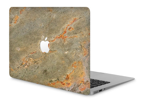 "MacBook Pro 15"" Retina Stone Cover Fire Stone Apple Cutout"
