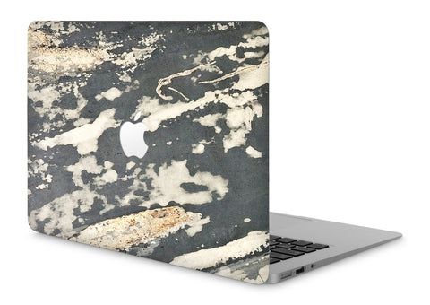 "MacBook Pro 15"" Retina Stone Cover Rustic Stone Apple Cutout"