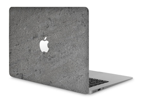"MacBook Pro 13"" Stone Cover Silver Stone Apple Cutout"