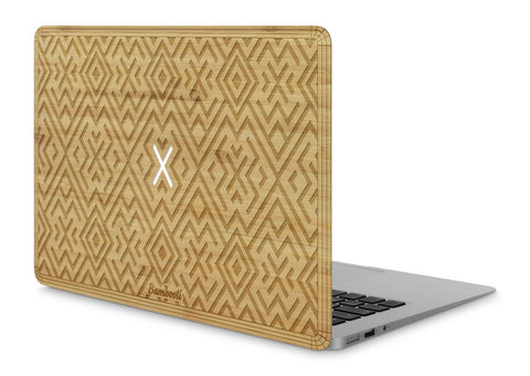 "MacBook Air 11"" Wood Cover Bamboo Aztec"