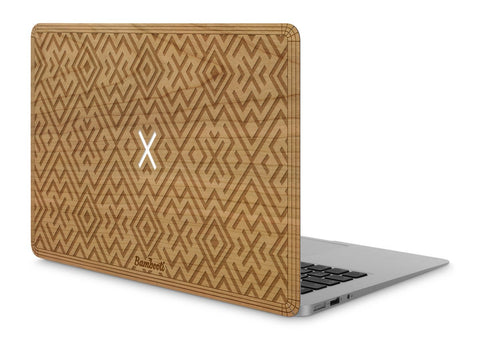 "MacBook Air 11"" Wood Cover Cherry Aztec"
