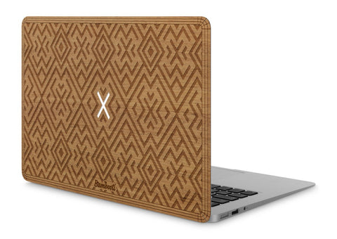 "MacBook Air 11"" Wood Cover Mahogany Aztec"