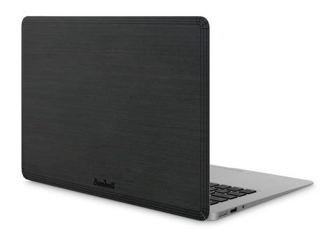 "MacBook Air 11"" Wood Cover Black Ash No Cutout"
