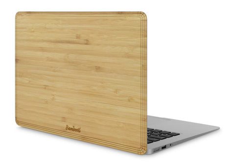 "MacBook Air 11"" Wood Cover Bamboo No Cutout"