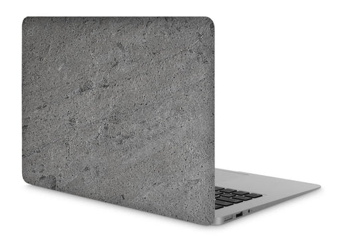 "MacBook Pro 15"" Retina Stone Cover Silver Stone No Cutout"