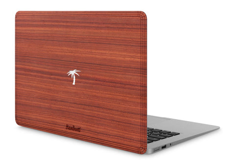 "MacBook Air 11"" Wood Cover Padauk Palm Tree Cutout"