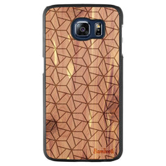 Galaxy S6 Wood Slim Case Cedar Triopus