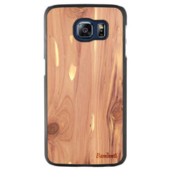 Galaxy S6 Wood Slim Case Cedar Regular
